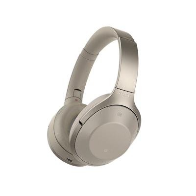 Sony Premium Noise Cancelling, Bluetooth Headphone, Grey Beige (MDR1000X/C)