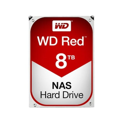 WD Red 8TB NAS Hard Disk Drive - 5400 RPM Class SATA 6Gb/s 128MB Cache 3.5 Inch