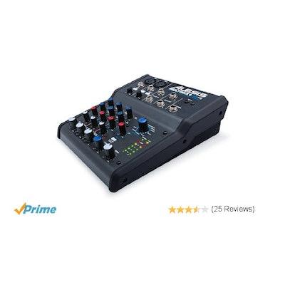 Amazon.com: Alesis Multimix 4 USB FX 4-Channel Mixer with Effects Plus USB Audio