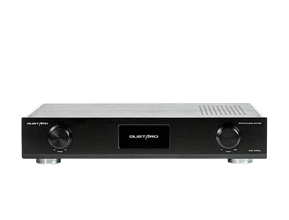 GUSTARD DAC-X20 Pro Super Ultimate 2 x ES9028Pro XMOS HiFi DAC 384KHz DSD DOP De