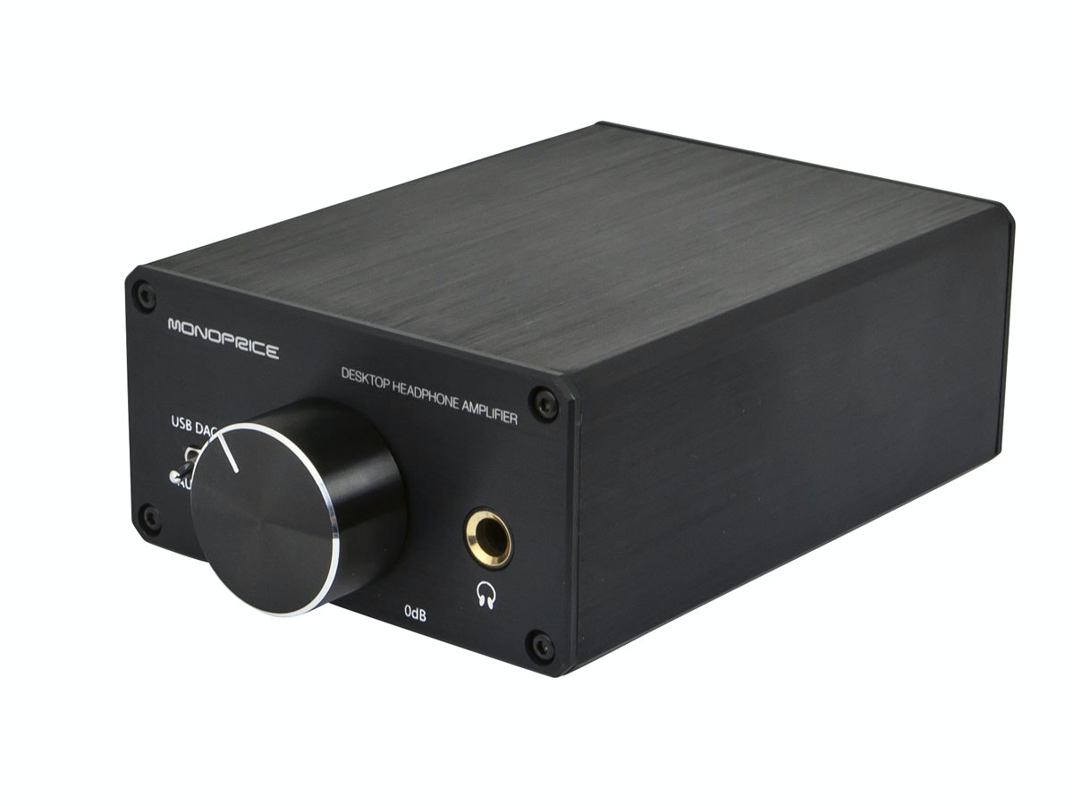 Monoprice Desktop Headphone Amplifier