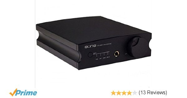 Aune X1S 32Bit/384KHz DSD DAC Headphone Amplifier black: Home Audio