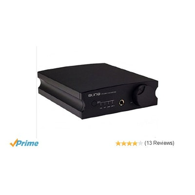 Aune X1S 32Bit/384KHz DSD DAC Headphone Amplifier black: Home Audio