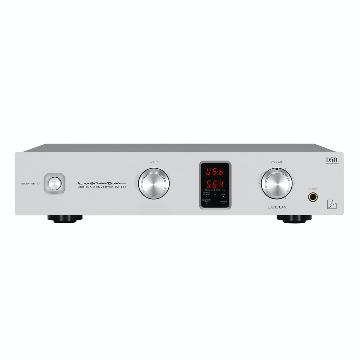 DA-250   | LUXMAN | Seeking higher sound quality