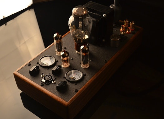 DECWARE Planar Tube Headphone Amplifier model TABOO MK4MapSpinner Page