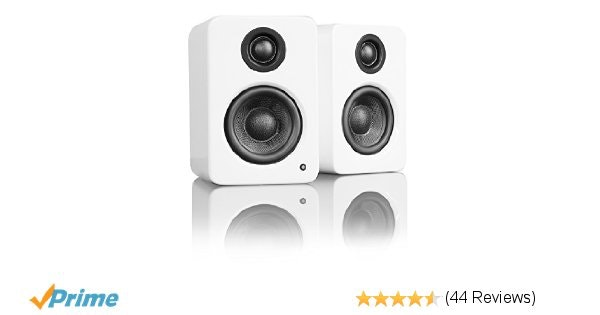 Amazon.com: Kanto YU2MW Powered Desktop Speakers (Matte White): Computers & Acce