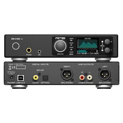 ADI-2 DAC | High-end USB Audio Converter & Headphone Amp - rme-usa.com