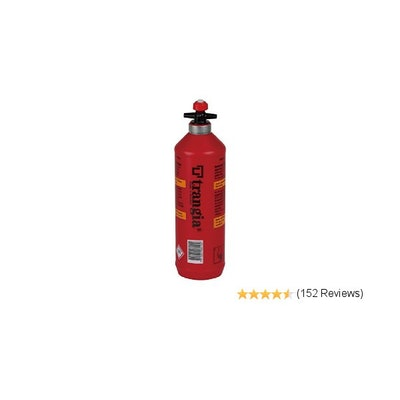 Amazon.com : Trangia Fuel Bottle, 0.3-Liter : Empty Camping Stove Fuel Bottles :