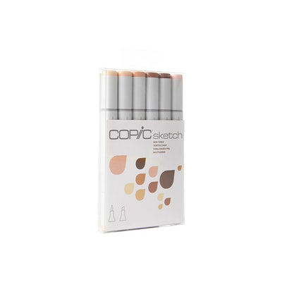 Copic Sketch Markers - 6pc Skintone Set