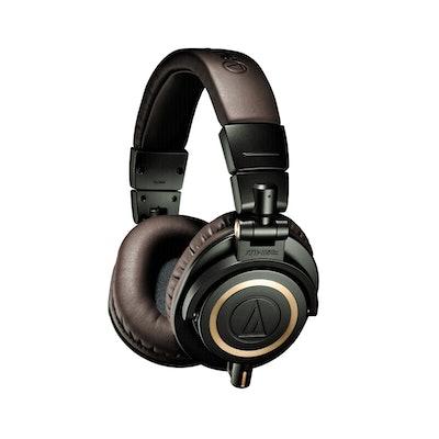 (99) Audio-Technica ATE-ATH-M50X, Green - OBS Fyndvara Klass 2 - Hemelektronik -