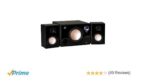 Amazon.com: Swans - M10B - Powered 2.1 Computer Speakers - Surround Sound - Near