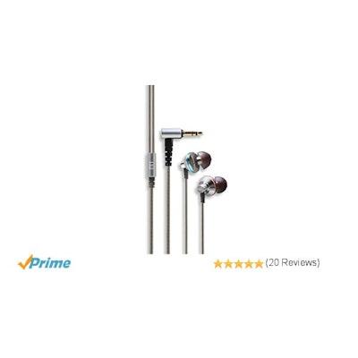 FiiO - EX1 Aerospace Nanotech In-Ear Monitor Headphones - Silver: Amazon.ca: Cel