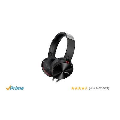 Sony MDR-XB950AP Premium Xtra Bass Overhead Headphones: Amazon.co.uk: Electronic