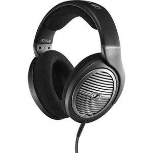 Sennheiser HD 518 - Audio Headphones - Music - Stereo, HiFi, TV