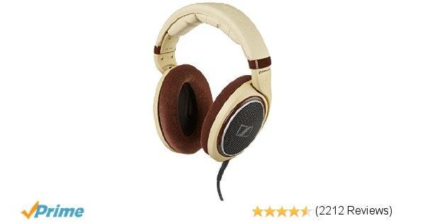 Amazon.com: Sennheiser HD 598 Over-Ear Headphones - Ivory: Electronics
