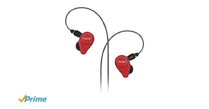 Amazon.com: Fostex TE04 In-Ear Stereo Headphones with Detachable Cable and Micro