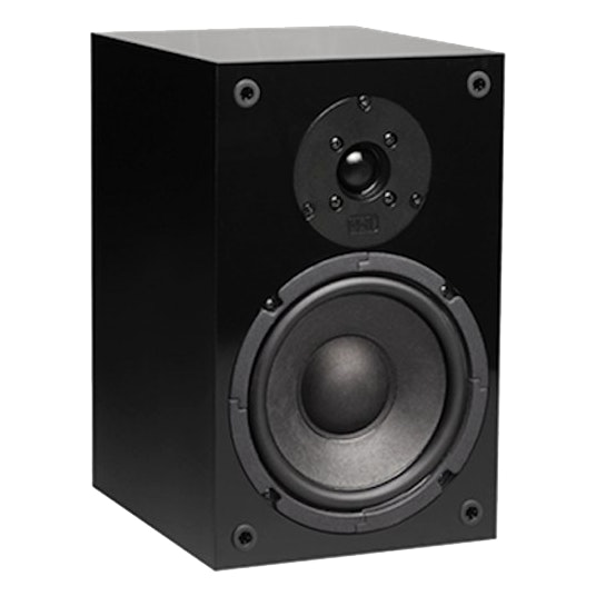 NHT SuperOne 2.1 Bookshelf Speaker (Single, Black)