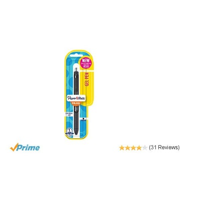Amazon.com: Paper Mate InkJoy Gel Pen, Fine Point, Black: Office Products