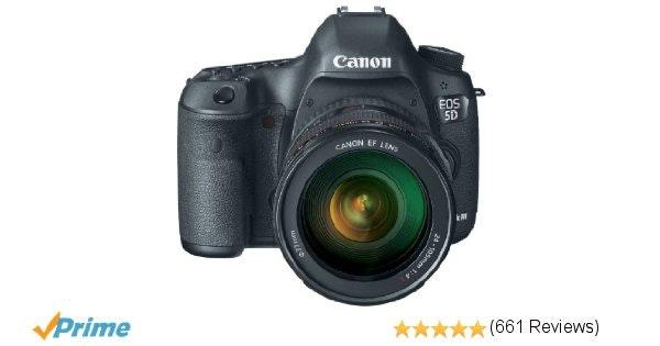 Canon 5D Mark III Full Frame DSLR with EF 24-105mm f/4 L Lens