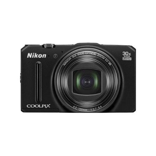 Nikon COOLPIX S9700 Compact Digital Camera - Black 3.0: Amazon.co.uk: Camera & P