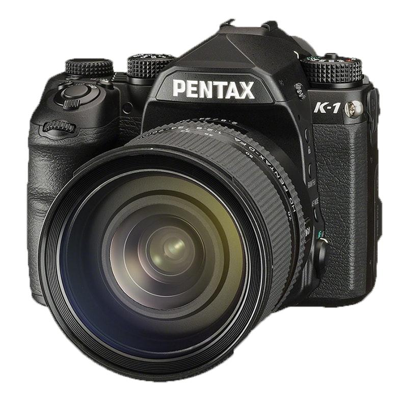 Pentax K-1 full-frame DSLR with 36MP sensor
