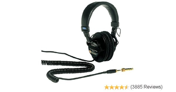 Amazon.com: Sony MDR7506 Professional Large Diaphragm Headphone: Musical Instrum