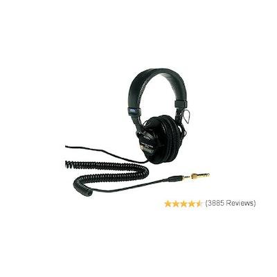 Amazon.com: Sony MDR7506 Professional Large Diaphragm Headphone: Musical Instrum