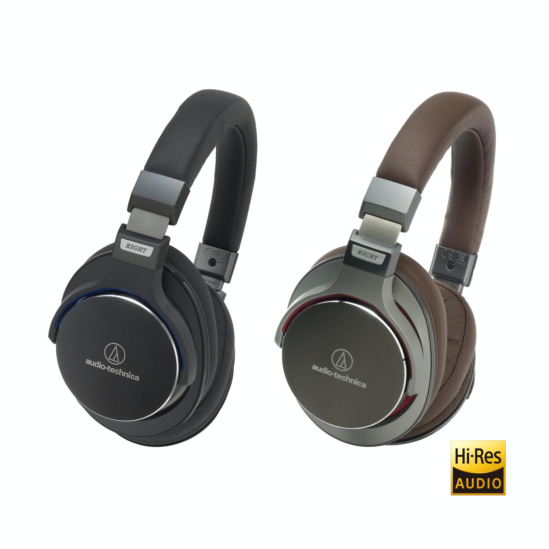 Audio-Technica ATH-MSR7 Hi-Res Audio Over-Ear Headphones