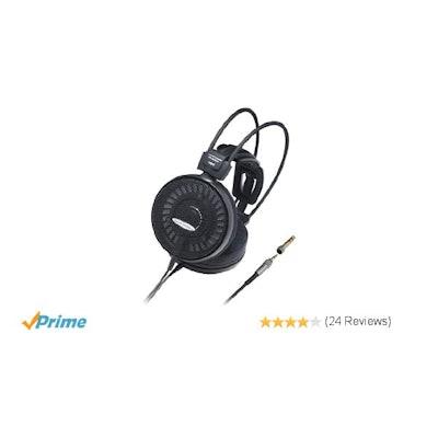 Amazon.com: Audio Technica Audiophile ATH-AD1000X Open-Air Dynamic Headphones: H