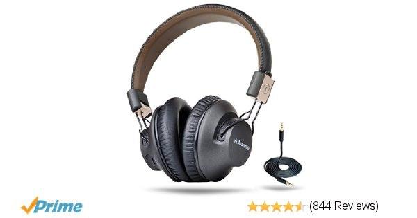 Amazon.com: Avantree Wireless Bluetooth Over Ear Headphones with Mic, LOW LATENC