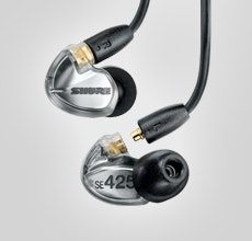 SE425 Sound Isolating™ Earphones | Shure Americas