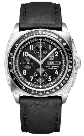 P-38 Lightning Automatic Valjoux Chronograph - 9461 | Luminox Watch USA