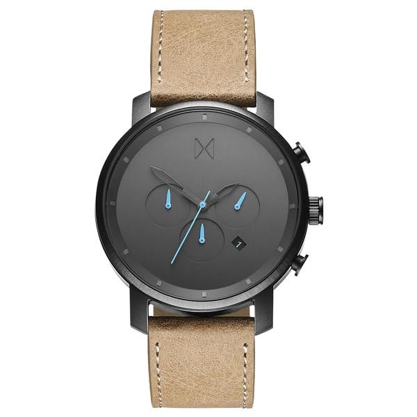 Chrono Gun Metal/Sandstone Leather – MVMT Watches