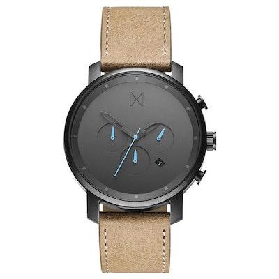 Chrono Gun Metal/Sandstone Leather – MVMT Watches