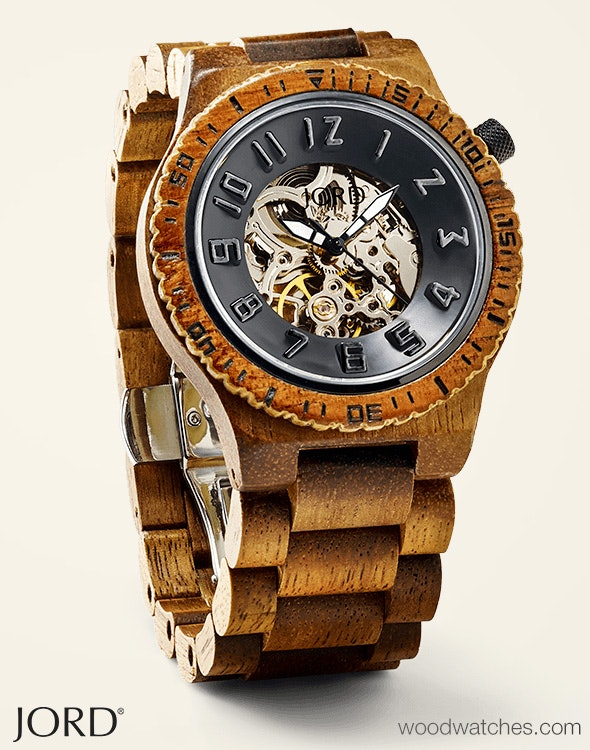 JORD Wood Watches For Men & Women