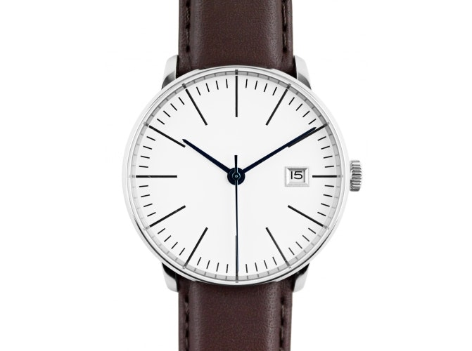 Kent Wang Bauhaus v4 Watch - White
