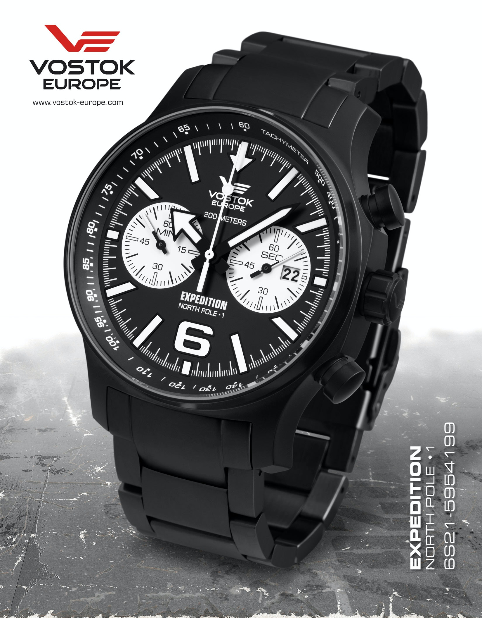 Vostok Europe:  EXPEDITION NORTH POLE 1