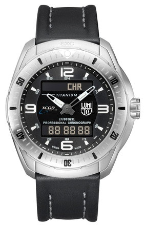 SPACE, XCOR/SXC Pilot Professional Titanium Analog Digital | Luminox Watch USA