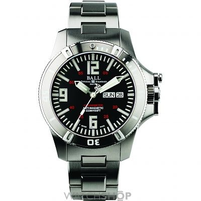 Men's Ball Engineer Hydrocarbon Spacemaster Glow Chronometer Automatic Watch (DM
