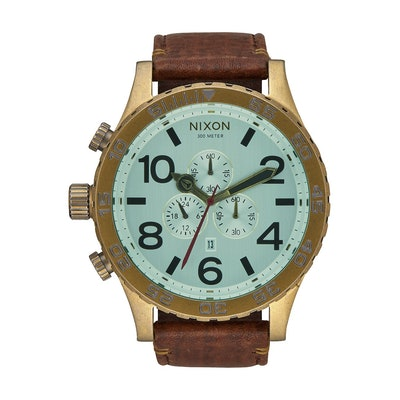 51-30 Chrono Leather | Men's Watches | Nixon Watches and Premium Accessories
