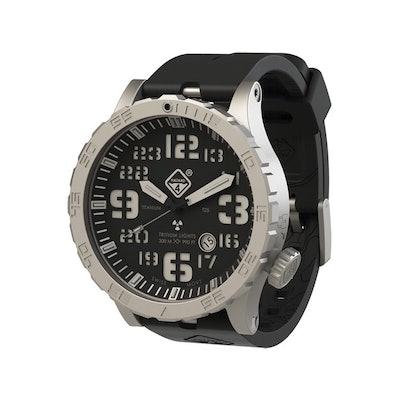 Heavy Water Diver™ - titanium tritium dive-watch by HAZARD4