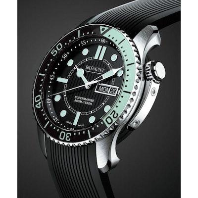 Bremont | S500-BK-GN | Supermarine Divers Watch |