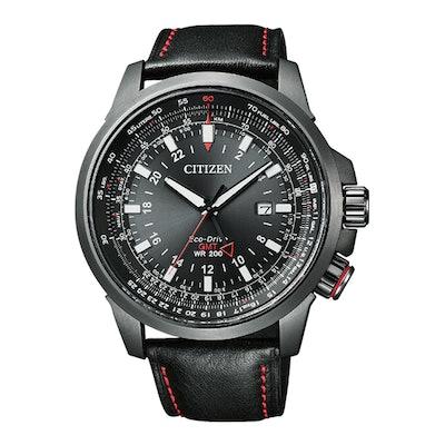 Citizen BJ7076-00E Promaster Eco-Drive GMT Pilots Watch