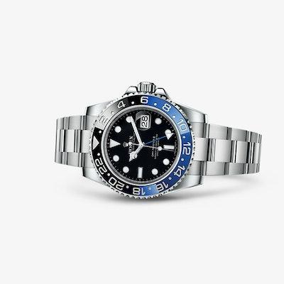Rolex GMT-Master II Watch: 904L steel – 116710BLNR