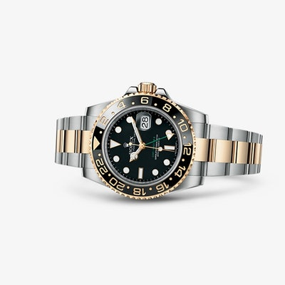 Rolex GMT-Master II Watch: Yellow Rolesor - combination of 904L steel and 18 ct