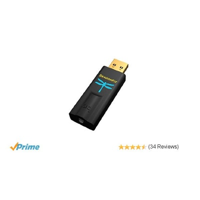 Amazon.com: AudioQuest DragonFly Black v1.5 USB Digital-to-Analog Converter: Hom