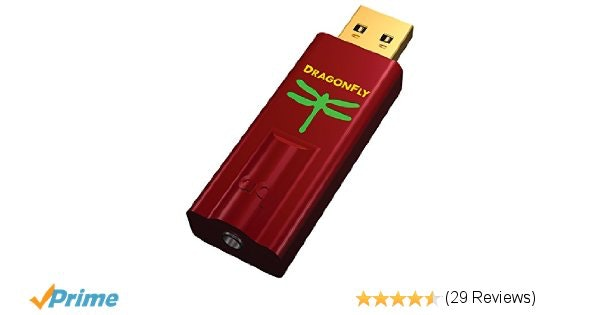 Amazon.com: AudioQuest DragonFly Red USB DAC, Preamp, Headphone Amp: Electronics