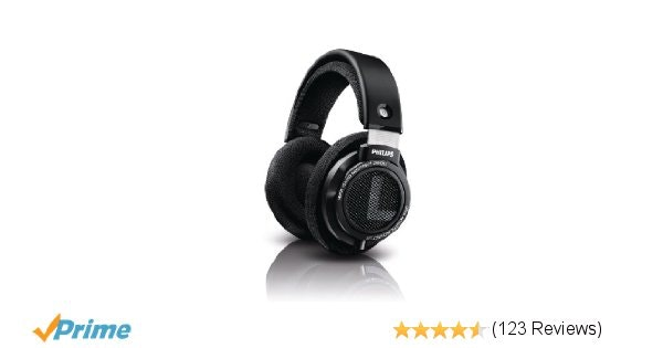 Amazon.com: Philips SHP9500 HiFi Precision Stereo Over-ear Headphones (Black): E