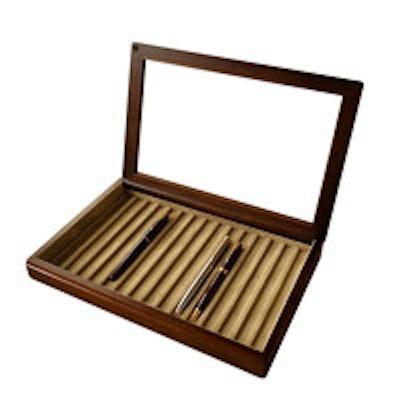 Tooyoka Craft 15 Pen Box with Glass Lid
