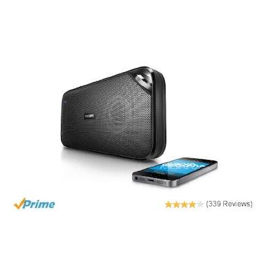 Amazon.com: Philips BT3500B/37 Wireless Portable Bluetooth Speaker: Electronics